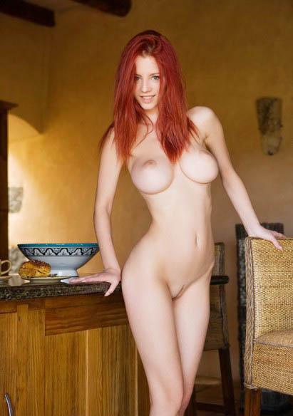 Modelos adolescentes desnudos pelirroja